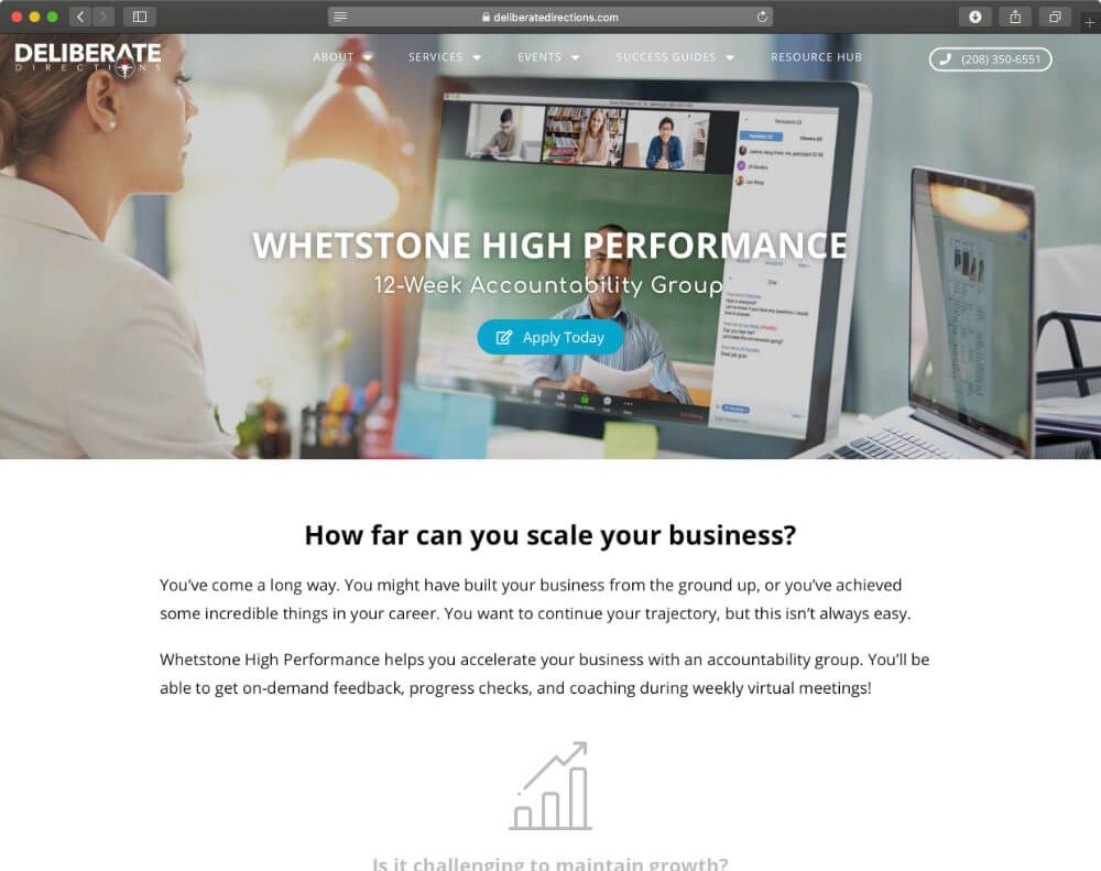 boise-graphic-design-landing-page-deliberate-directions-whetstone-high-performance-1