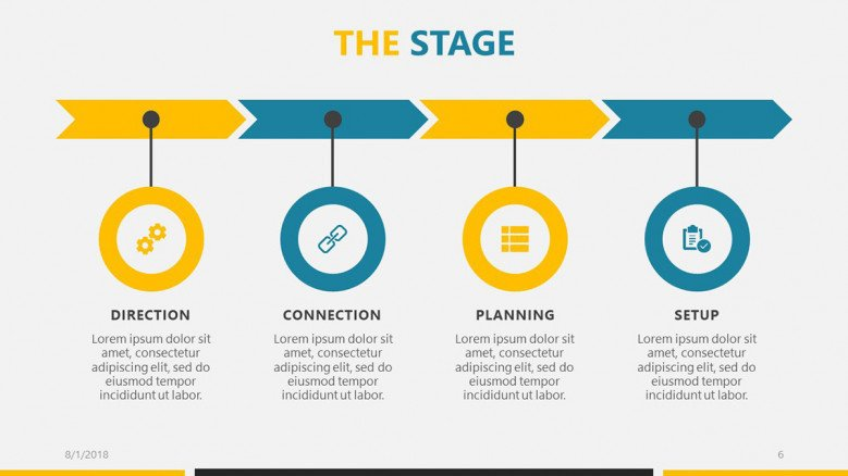 A visual roadmap helps your audience stay oriented during a presentation.