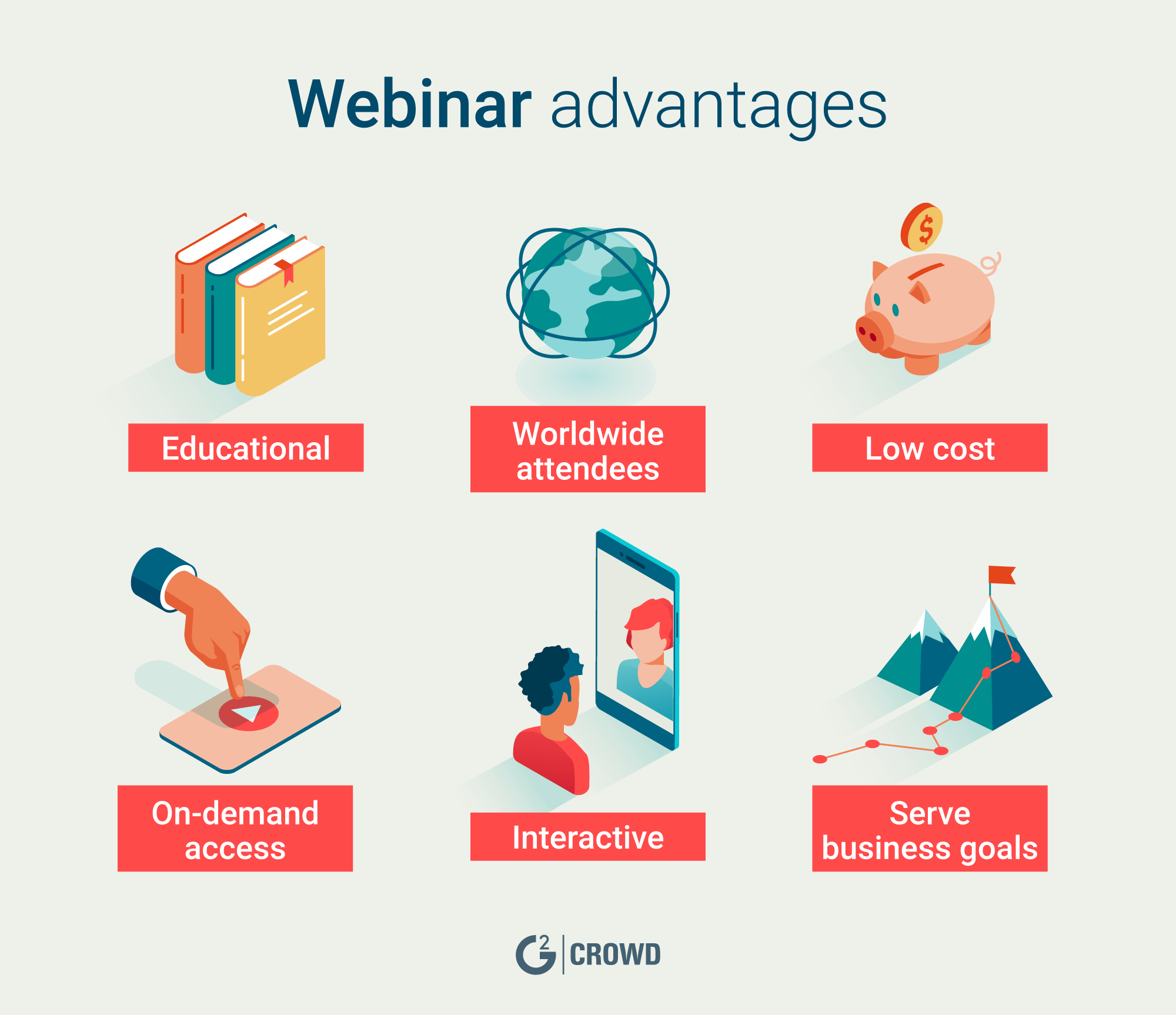 Webinars are a win-win for hosts and attendees.