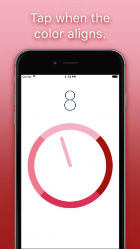 app-development-hyper-casual-games-pink-dial-iphone-03